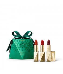Набор помад KIKO MILANO Holiday Gems Diamond Dust Lipstick Set