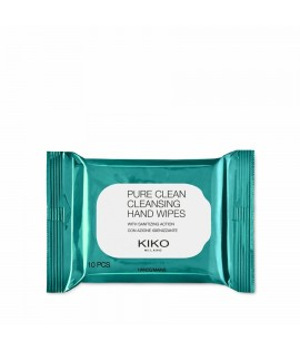 Салфетки антибактериальные для рук KIKO MILANO Pure Clean Cleansing Hand Wipes 10pz
