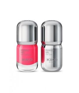 Лак для ногтей KIKO MILANO Perfect Gel Duo 673 Strawberry Pink