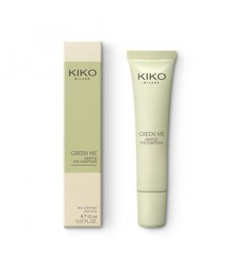 Гель для зоны вокруг глаз KIKO MILANO Green Me Gentle Eye Contour 15 ml