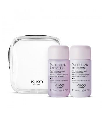 Набор для очищения KIKO MILANO On The Go Pure Clean Kit