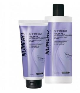 Шампунь для разглаживания волос с маслом авокадо BRELIL NUMERO