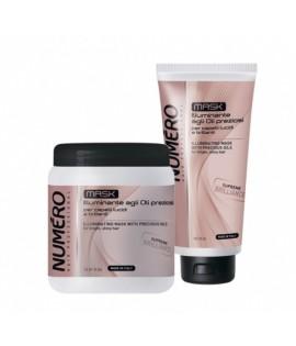 Маска для блеска волос на основе ценных масел BRELIL NUMERO