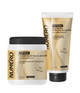 Маска питательная для волос с маслом карите BRELIL NUMERO