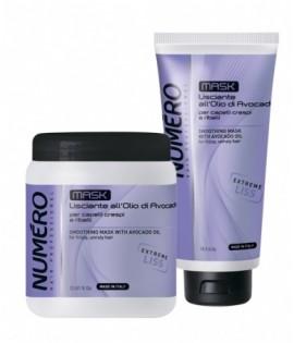 Маска для разглаживания волос с маслом авокадо BRELIL NUMERO