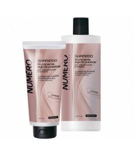 Шампунь для блеска волос на основе ценных масел BRELIL NUMERO