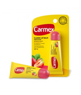 Бальзам для губ CARMEX Strawberry Tube SPF 15
