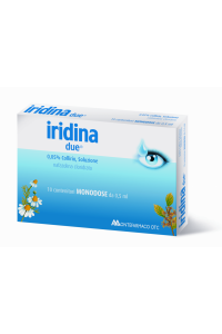 IRIDINA DUE Collirio Monodose