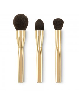 Набор кистей KIKO Gold Waves Radiant Face Brush Kit