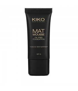 Тональная основа KIKO MILANO Mat Mousse Foundation