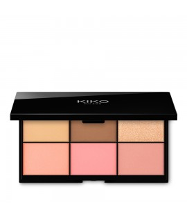 Палетка для лица KIKO MILANO Smart Essential Face Palette