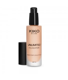 Тональная основа KIKO Unlimited Foundation SPF 15