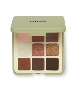 Палетка теней KIKO MILANO NEW GREEN ME EYESHADOW PALETTE