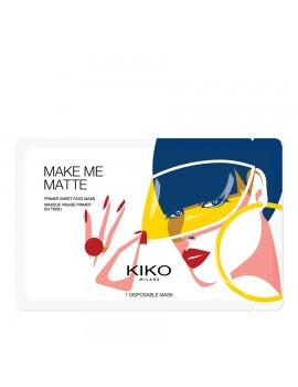 Маска тканевая для лица KIKO Make Me Matte