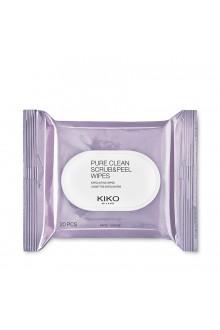 Салфетки скрабирующие KIKO MILANO Pure Clean Scrub&Peel