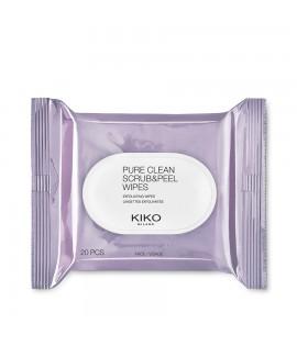 Салфетки скрабирующие KIKO Pure Clean Scrub&Peel