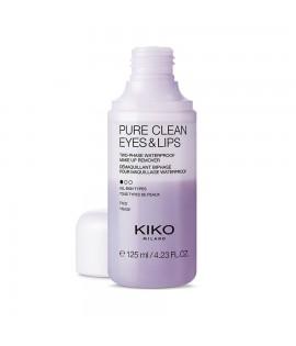 Жидкость для снятия макияжа KIKO Pure Clean Eyes & Lips