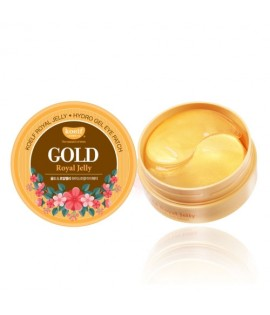 Патчи для глаз KOELF Gold and Royal Jelly Eye Patch, 60 шт