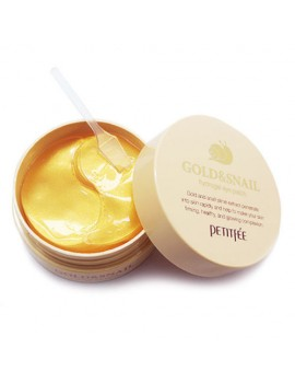 Патчи для глаз PETITFEE Gold and Snail Hydrogel Eye Patch, 60 шт