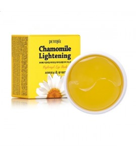 Патчи для глаз PETITFEE Chamomile Lightening Hydrogel Eye Mask, 60 шт