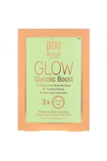 Маска для лица PIXI GLOW Glycolic Boost Brightening Infusion Sheet Mask ( 3 x 23g )