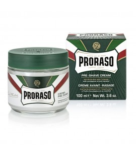 Крем до бритья PRORASO Preshave Cream Refresh, 100 мл