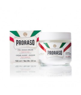 Крем до бритья PRORASO Preshave Cream Sensitiv, 100 мл