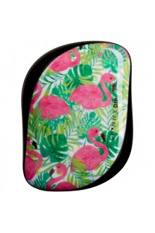 Расчёска TANGLE TEEZER COMPACT STYLER Flamingo Skinny Dip Green