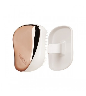 Расчёска TANGLE TEEZER COMPACT STYLER Rose Gold Ivory