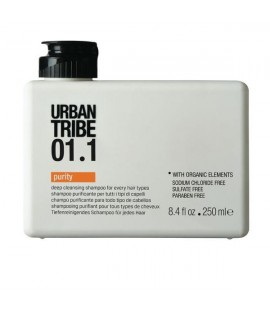 Шампунь oчищающий URBAN TRIBE 01.1 Shampoo Purity 250 мл.