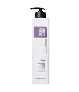 Шампунь разглаживающий URBAN TRIBE 01.5 Shampoo Smooth 1000 мл.
